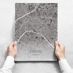 Obraz na zeď - Map Of Paris